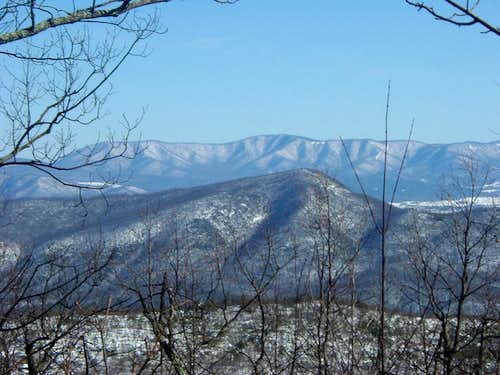 Kennedy Peak and Knob Mountain