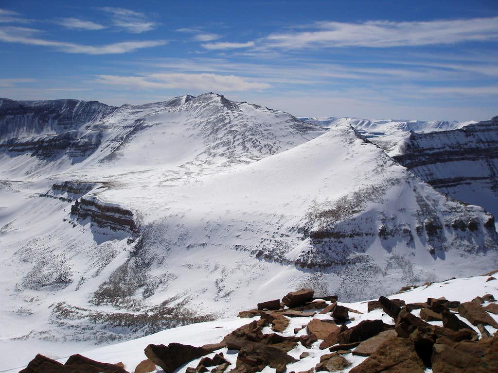 Kings Peak and West Gunsight Peak