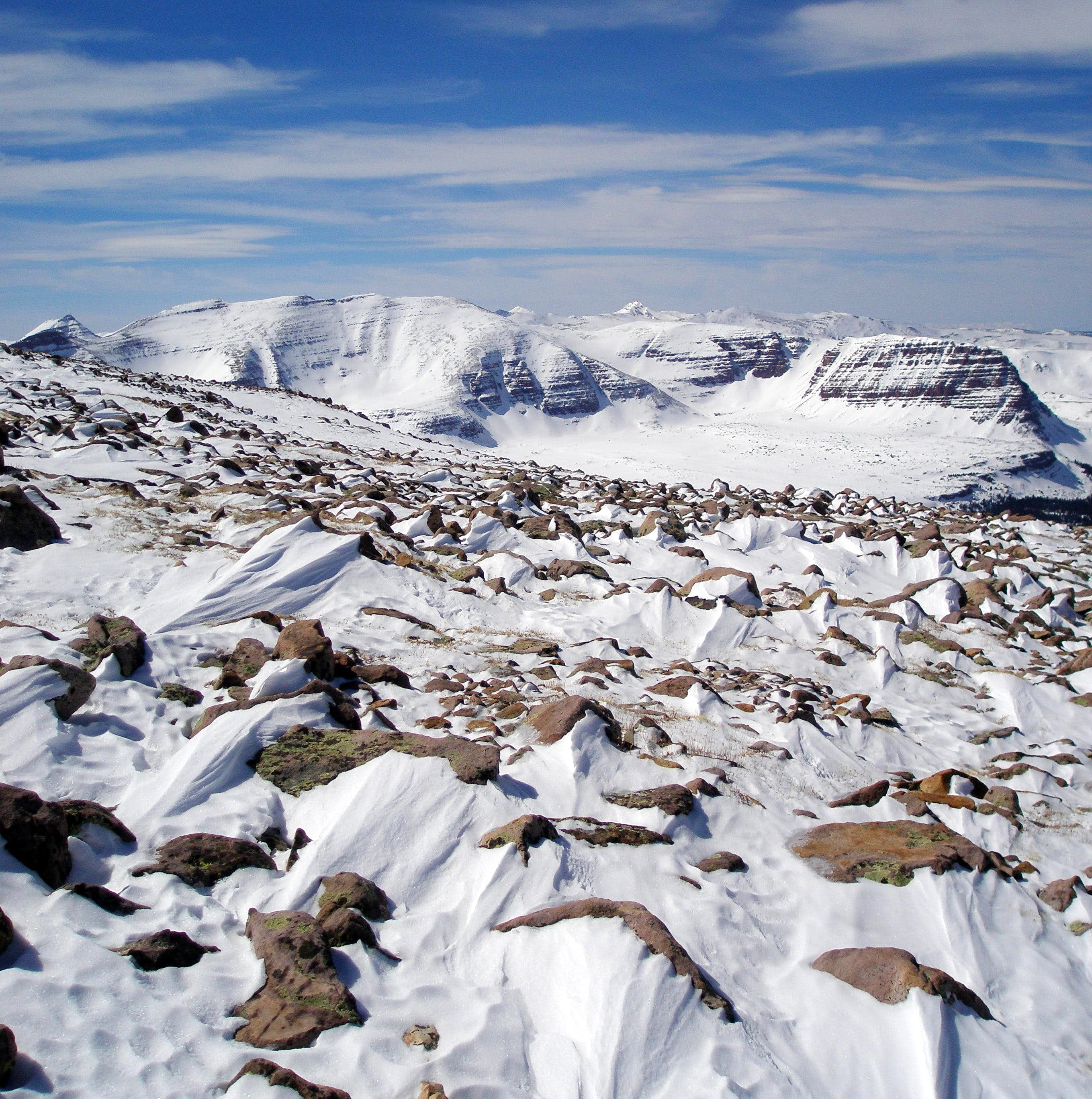 Winter in the High Uintas