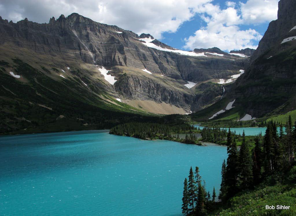 Margaret Lake and Ipasha Peak