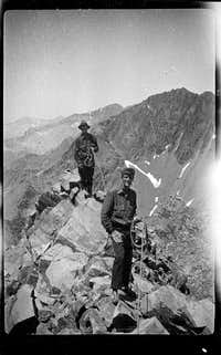 Jules Eichorn and John Olmsted on Devil's Crags, July 23, 1930