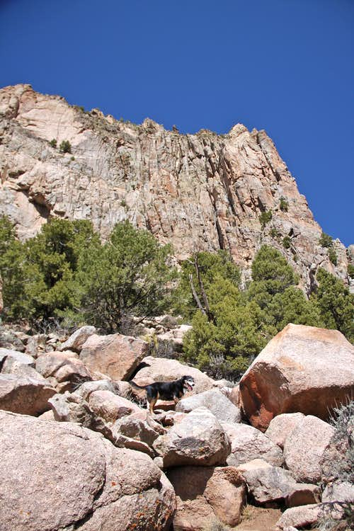 Approach to Mother's Buttress