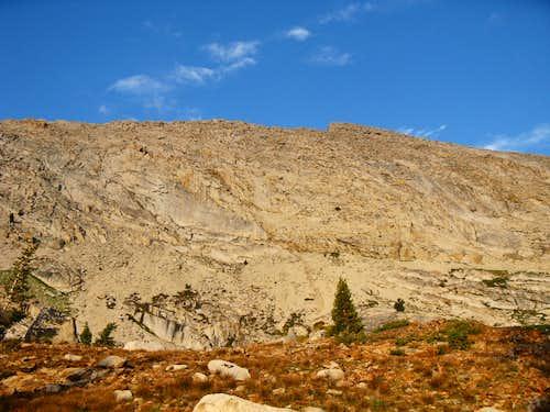 Sawtooth Peak from Monark Lakes