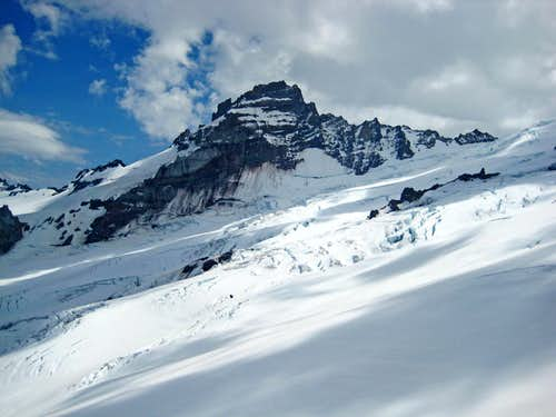 Little Tahoma from the Emmons Glacier