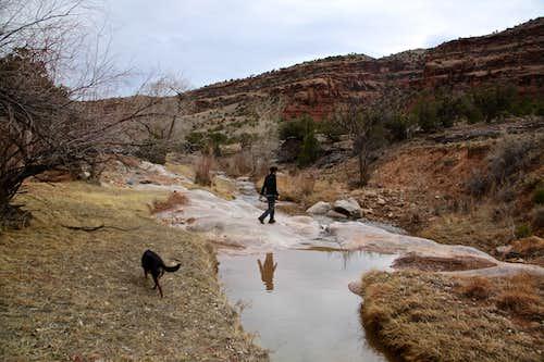 Big Dominguez Creek