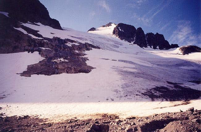 The Silver Glacier from its...