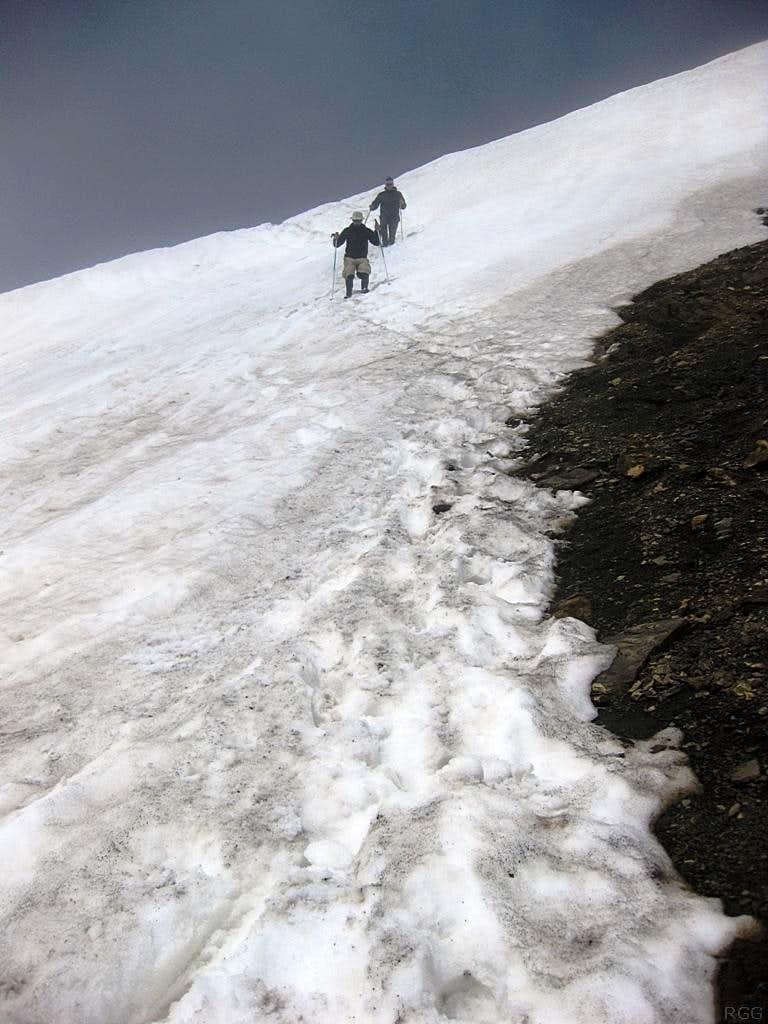 Descending Schesaplana