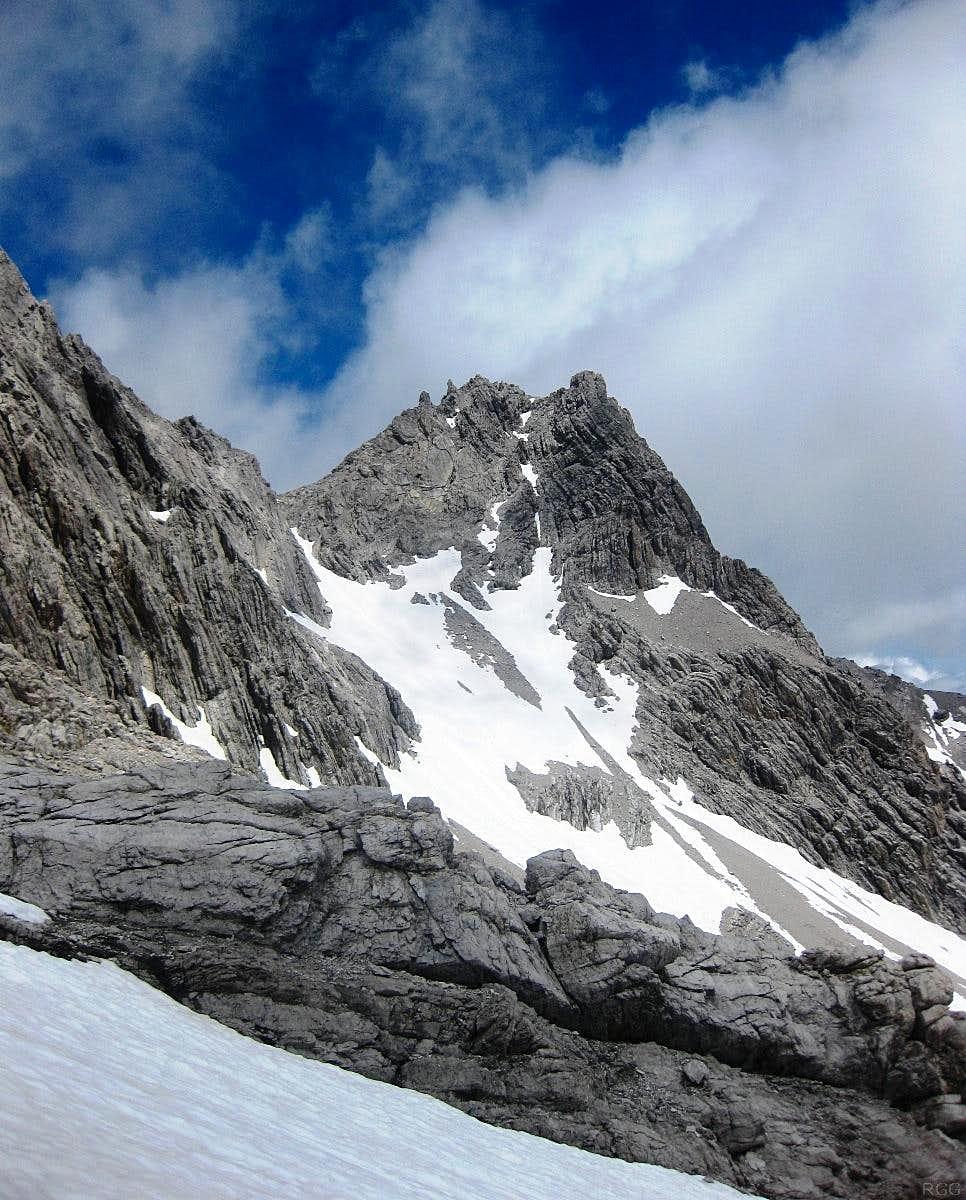 Zirmenkopf (2806m) from the southwest