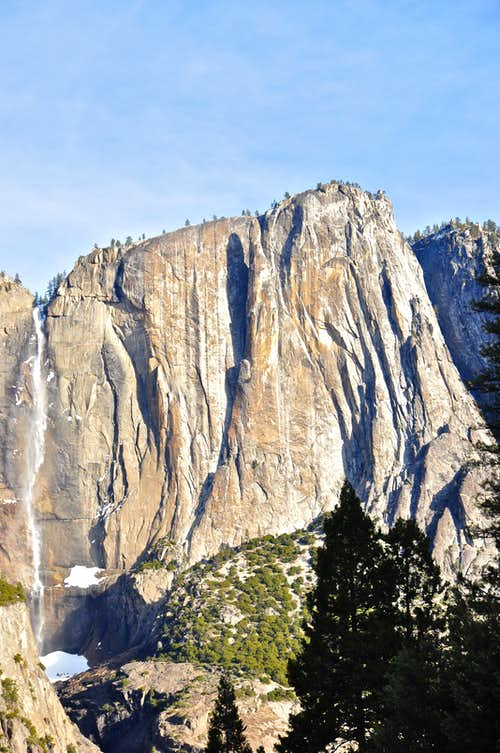 Yosemite Falls and Lost Arrow Spire