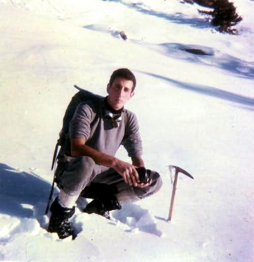 Becca di Viou First Winter Return to base tableland, January 1968
