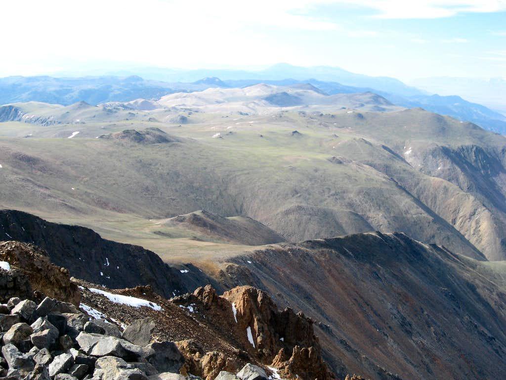 White Mountains from White Mountain  Photos, Diagrams