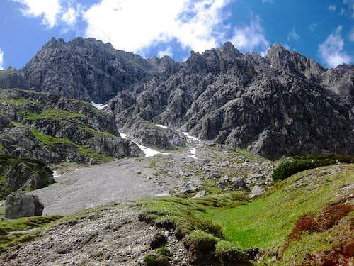 Seekopf east ridge