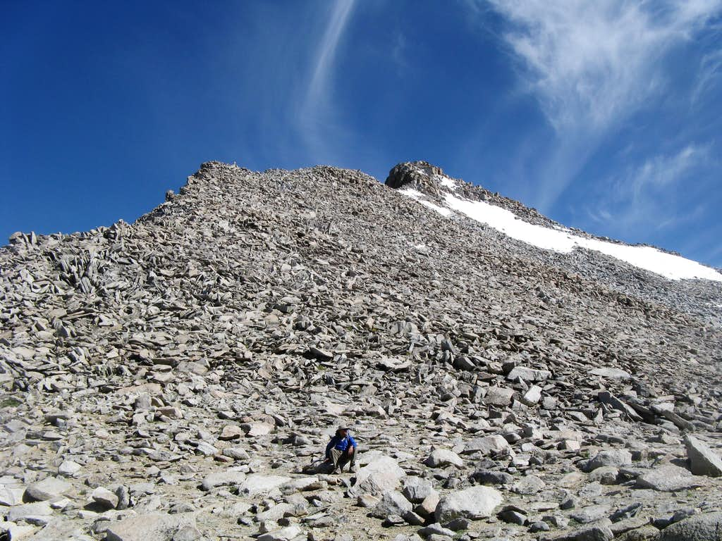 View toward Summit