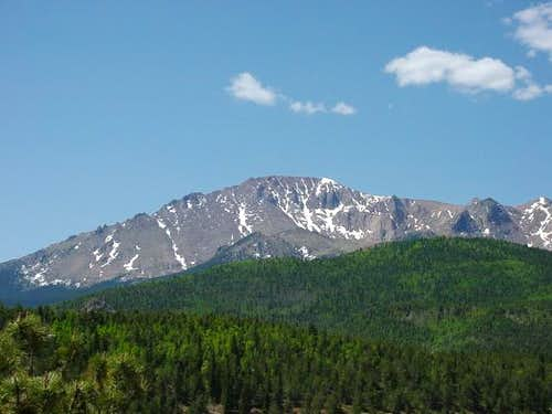 Pikes Peak from Crystal...