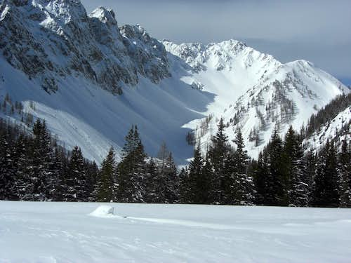Hochwannig - a narrow escape from an avalanche