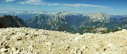 Borderland - Italian and Slovenian Alps
