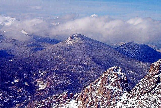 Estes Cone from the Twin Sisters