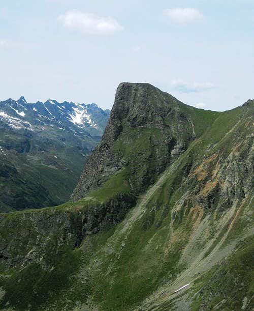Sturpen (2718m) from the southeast