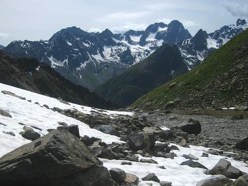 The southern Kaunergrat