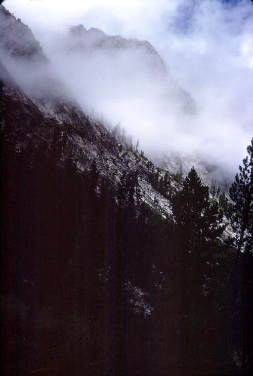 LeConte Canyon Clouds