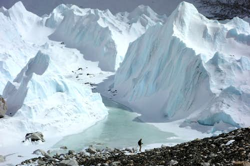Khumbu Glacier Ice