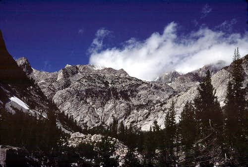 Head of LeConte Canyon