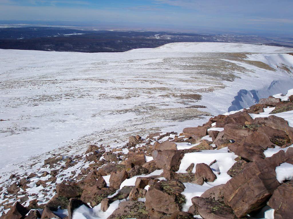 North ridge of Gilbert and Gunsight