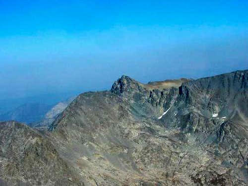 Mt. Davis from Electra Peak...