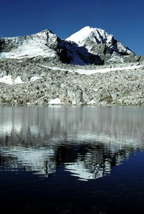 Mount Goddard and Wanda Lake