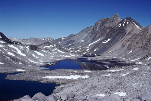 Davis Lake and Mount McGee