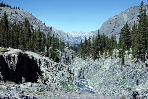 San Joaquin River South Fork Canyon