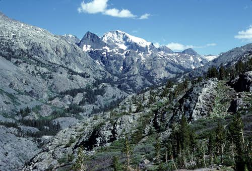 South Fork of the San Joaquin River Canyon