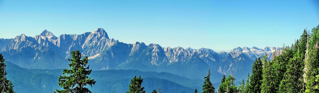 Good viewpoint to Julian Alps
