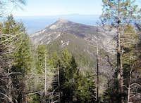 Samaniego Peak from high on...