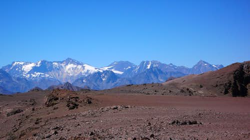 Panorama from near El Pintor