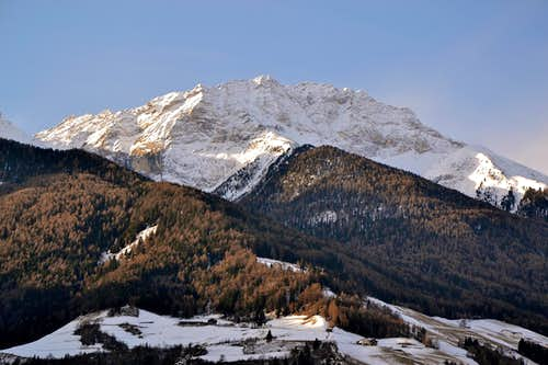 The Orgelspitze from the north east