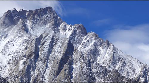 Beta Shot of the North Ridge of Lone Pine Peak