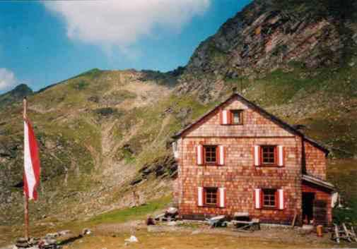 The Hugo Gerbers Hütte in the...