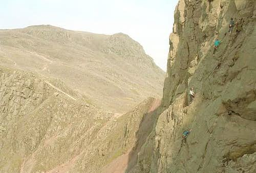 Scafell Pike in the...