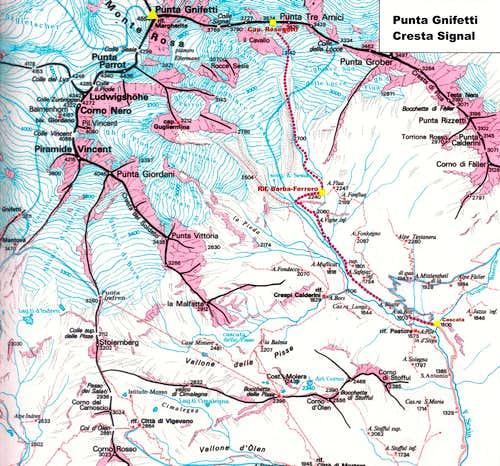 Cresta Signal map