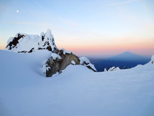 Mount Hood shadow