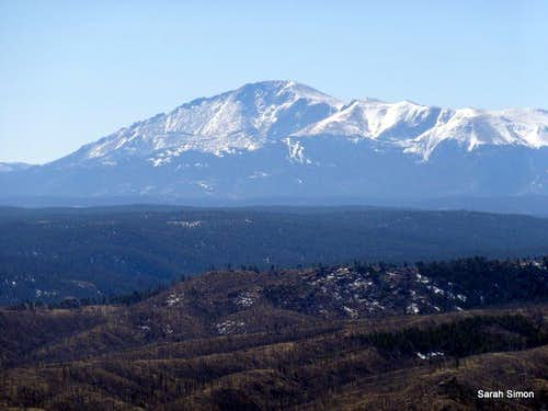 Pikes Peak from Sheep Nose