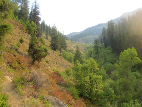 heading up little elk creek