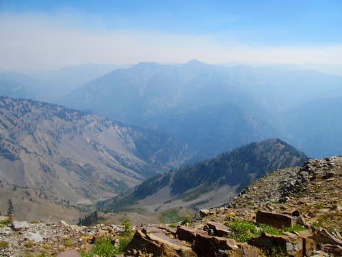 East-ish towards Powder Peak