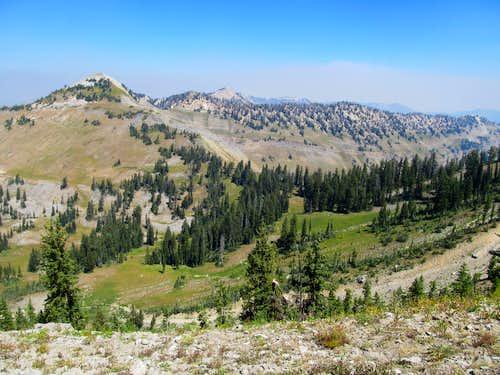 Little Elk Peak & ridge