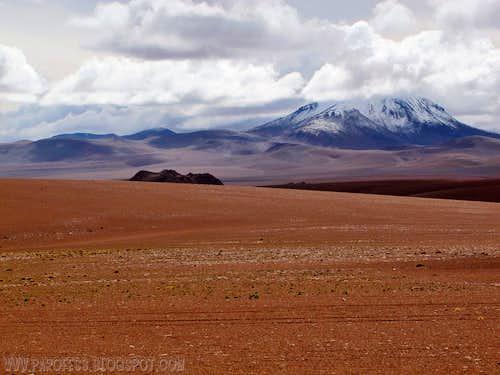 Bolivia, land of volcanoes...