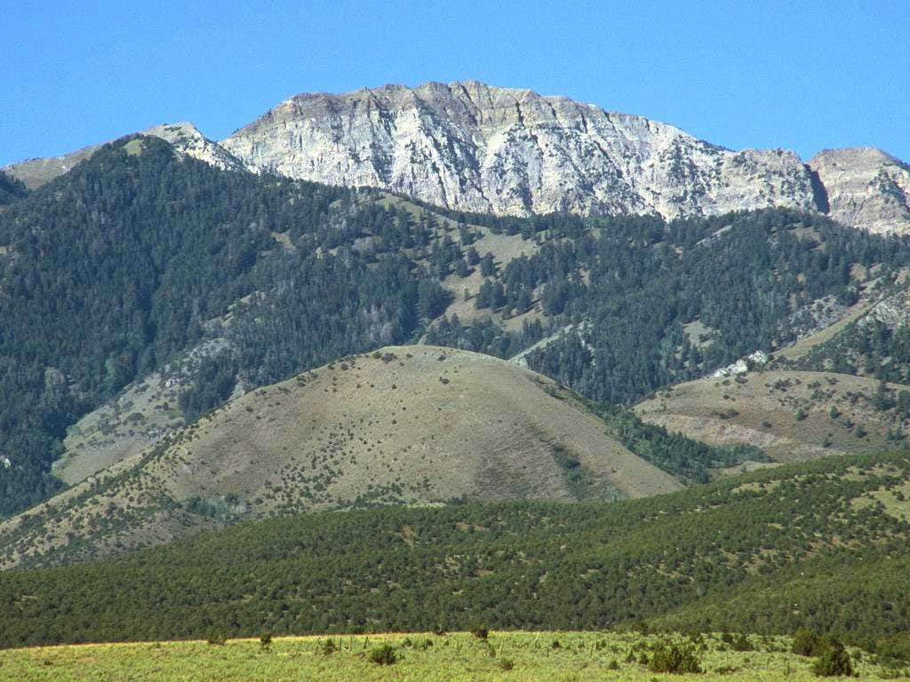 Deseret Peak from just south...