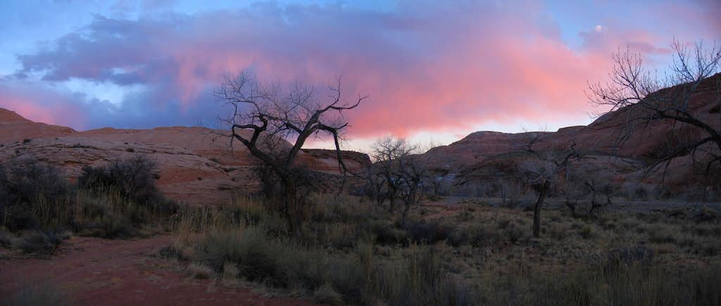 Sunset from Sandthrax Camp