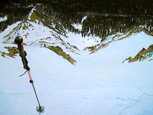 Truchas East Couloir