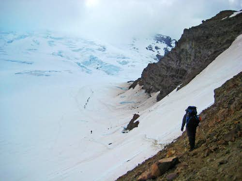 Last Section before Camp Schurman